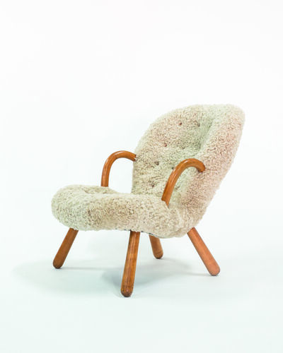 Philip Arctander, 'Clam Armchair', vers 1940