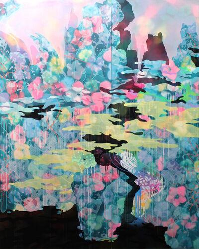 Hidenori Ishii, 'The Black Lake II (A Blue Landscape)', 2015