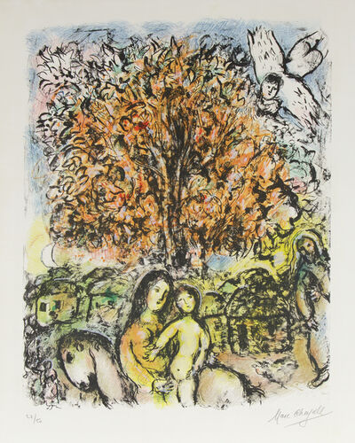 Marc Chagall, 'The Holy Family', 1970