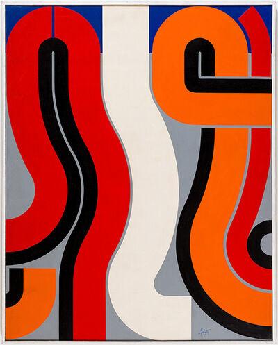 Attila Joláthy, 'Meeting', 1977