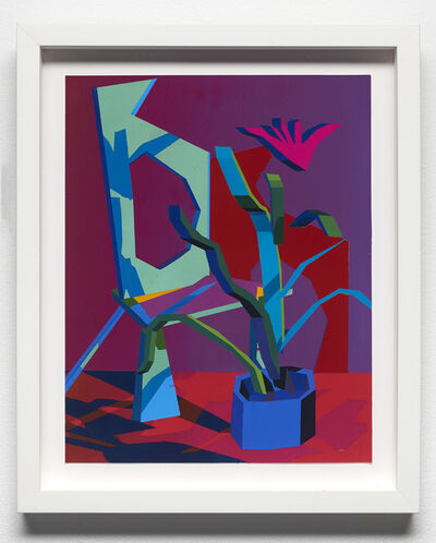 Jonathan Chapline, 'Untitled (Picasso Chair and Hockney Plant)', 2019