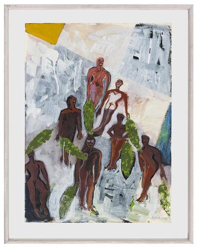 Elvira Bach, 'Afrika Blues', 1992