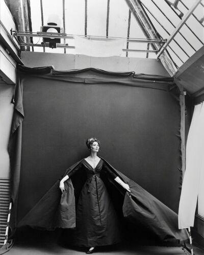 Richard Avedon, 'Suzy Parker, Evening Dress by Dior, Paris Studio, August', 1956