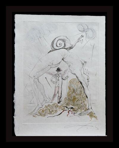 Salvador Dalí, 'Poems Secrets Nude With Snail', 1967