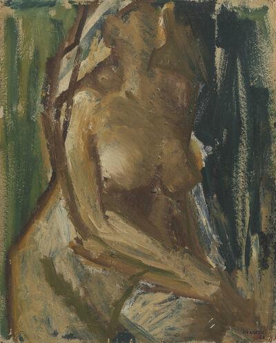 Dennis Creffield, 'Seated Nude', 1948