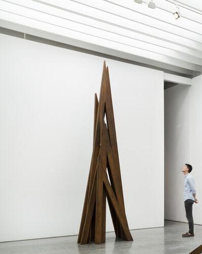 Bernar Venet, '8 Acute Uneven Angles', 2016