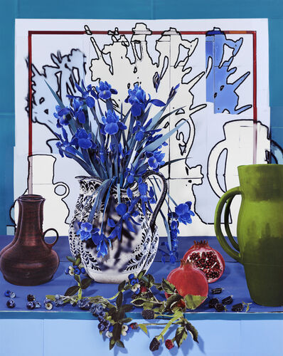 Daniel Gordon, 'Still Life with Pomegranate and Berries', 2020