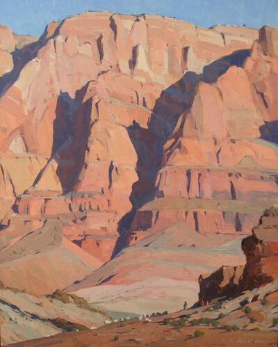 "G. Russell Case, '""Between a Rock and a Hard Spot""', 2018"