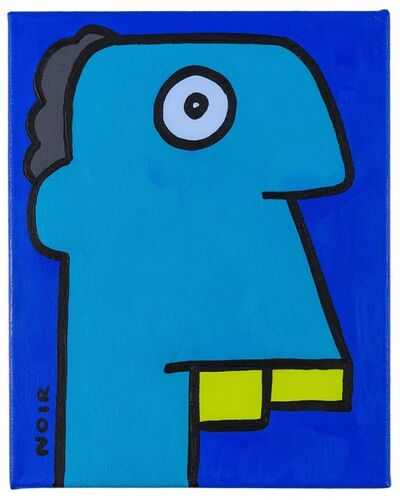 Thierry Noir, 'I feel Better since I changed into warmer socks', 2020