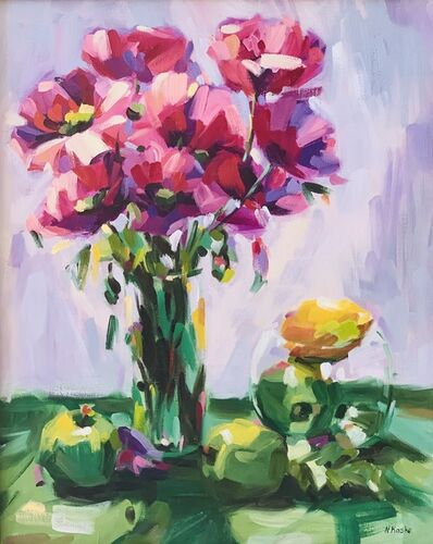 Nadia Kasko, 'Poppies & Apples', 2013