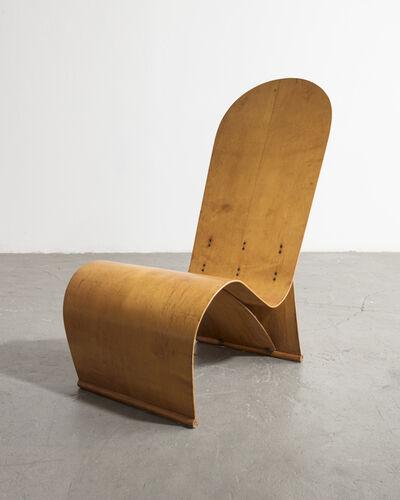 Herbert Von Thaden, 'Lounge chair in bent plywood', 1947