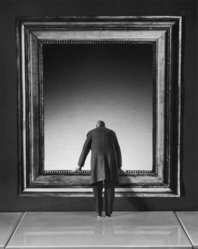 Gilbert Garcin, '169 – L'attraction du vide – The lure of the void', 2001