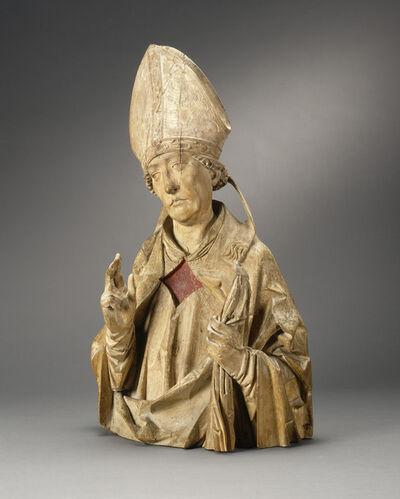 Tilman Riemenschneider, 'A Bishop Saint (Burchard of Würzburg?)', ca. 1515/1520