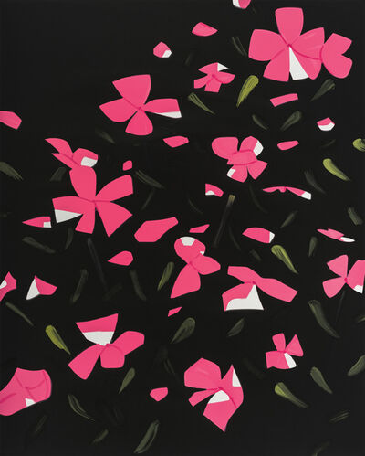 Alex Katz, 'White Impatiens', 2016
