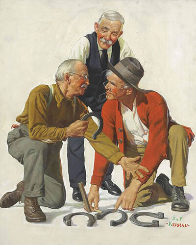 Joseph Francis Kernan, 'Horseshoes', 20th Century