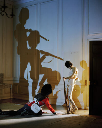 Tim Walker, 'Malgosia Bela and fallen guardsman, Glemham Hall, Suffolk, 2009', 2009