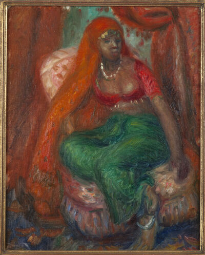 William James Glackens, 'Negress in Costume', ca. 1923