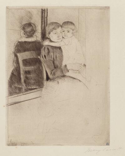 Mary Cassatt, 'The Mirror', ca. 1891
