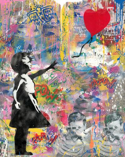 Mr. Brainwash, 'Balloon Girl', 2020
