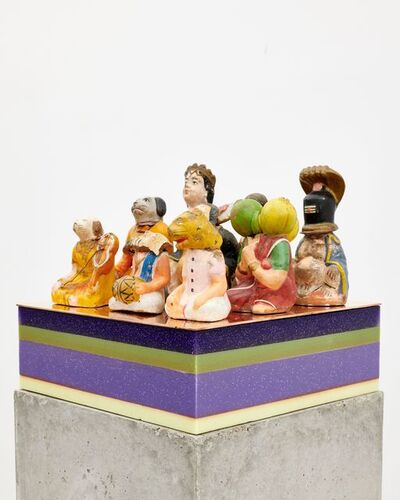 Bharti Kher, 'Adoring audience', 2019