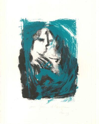 Abdallah Akar, 'Abstract Portrait', 1993