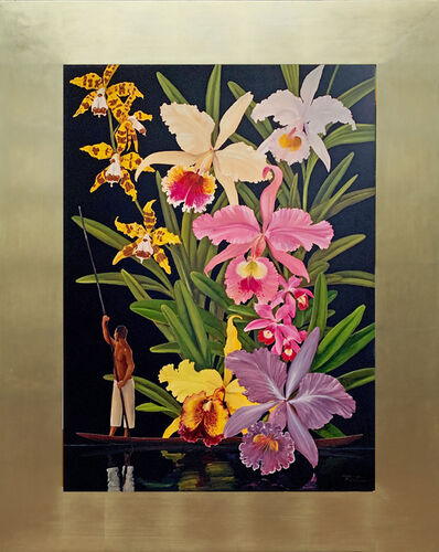 Pedro Ruiz, 'Orchids for Colombia', 2020