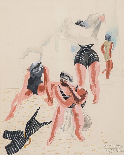 Jean Lurçat, 'Les baigneuses', 1933