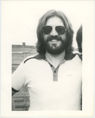 Unknown, 'John Bonham Led Zeppelin Late Drummer Press Print', ca. 1970's