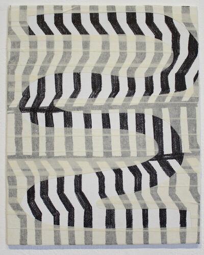 Ashley Layendecker, 'Tape Drawing and Pattern', 2017