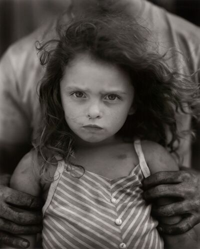 Sally Mann, 'Holding Virginia', 1989
