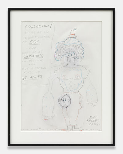 Mike Kelley, 'Mike Kelley Untitled (COLLETOR! BUY ME....)', 2009