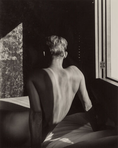 George Platt Lynes, '[Carlos McClendon, back to window]', 1947