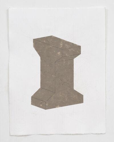Christoph Weber, 'béton brut drawing', 2011