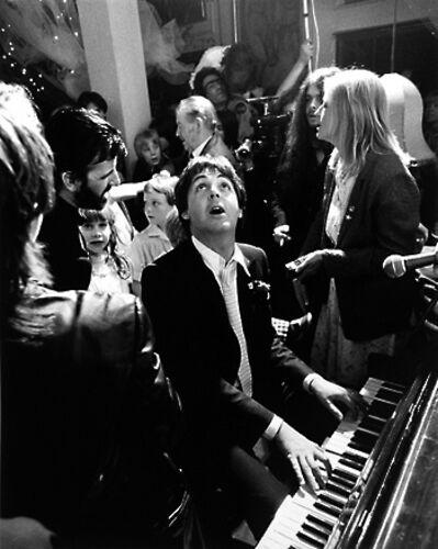 Terry O'Neill, 'Paul McCartney At Ringo Starr's Wedding, London', 1981