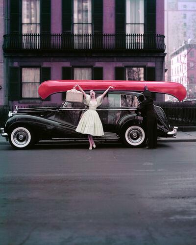 William Helburn, 'Red Canoe', 1965