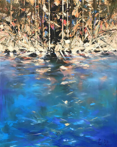 Paul Battams, 'Aqua Blue (Summer Bay)', 2019