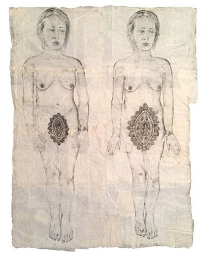 Kiki Smith, 'Two Lace Doilies', 2001
