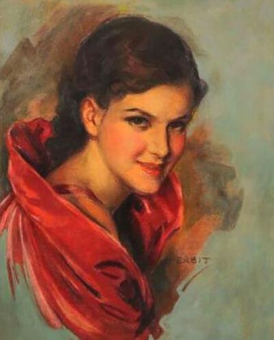 Jules Erbit, 'Smiling Eyes', 20th Century
