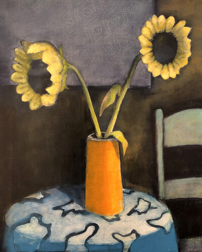 Treacy Ziegler, 'Evening Sunflowers', 2021