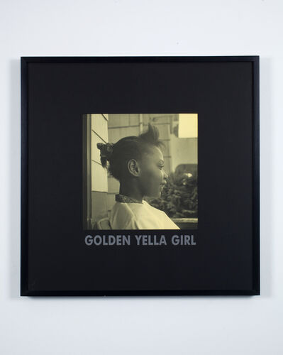 Carrie Mae Weems, 'Golden Yella Girl', 1997