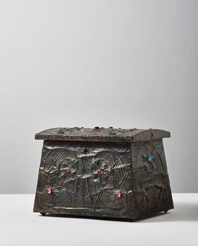 Alfred Daguet, 'Trillium Treasure Box', 1904