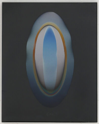 Larry Bell, 'MEL (Medium Elispse)', 1985