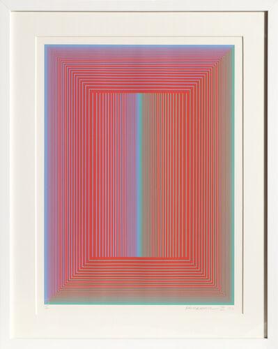 Richard Anuszkiewicz, 'Sequential VI', 1972