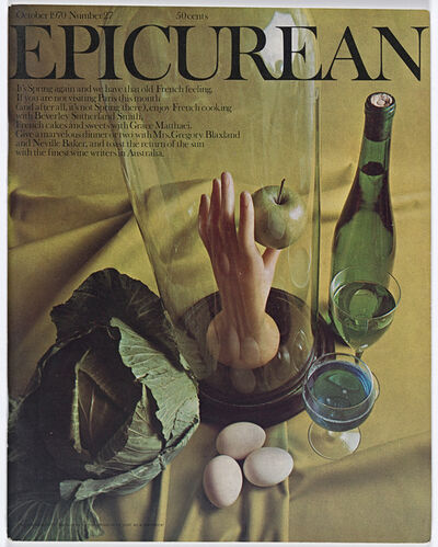 Les Mason, 'Epicurean Magazine Cover Design Number 27', 1970