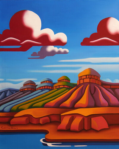 Joseph Comellas, ' Rivers Gateway    (original oil on canvas)', 2020