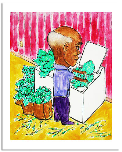 Zeal Harris, 'Washing Greens ', 2019