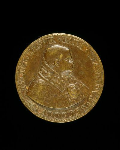 Caradosso Foppa, 'Julius II (Giuliano della Rovere, 1443-1513), Pope 1503 [obverse]', 1506