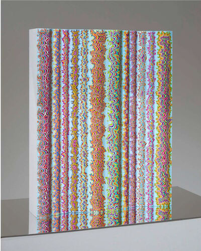 Kelsey Brookes, 'Mirrored Waveform (v slab)', 2018