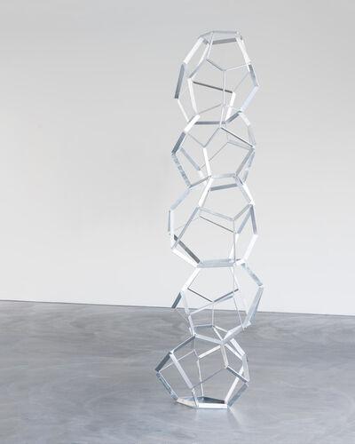 Beat Zoderer, 'Fünfstöckiger Dodekaeder', 2017
