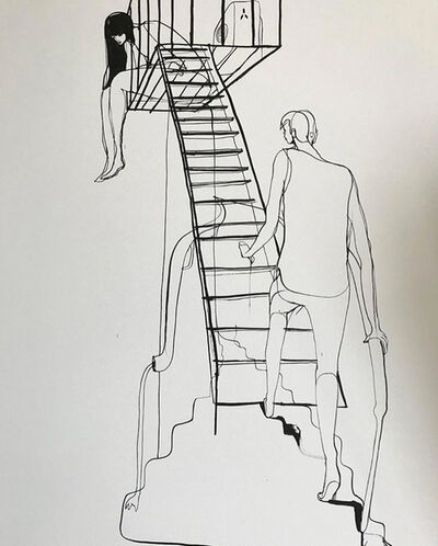 Will Barras, 'Fire Escape', 2020